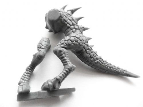 lizardman saurus warrior torso